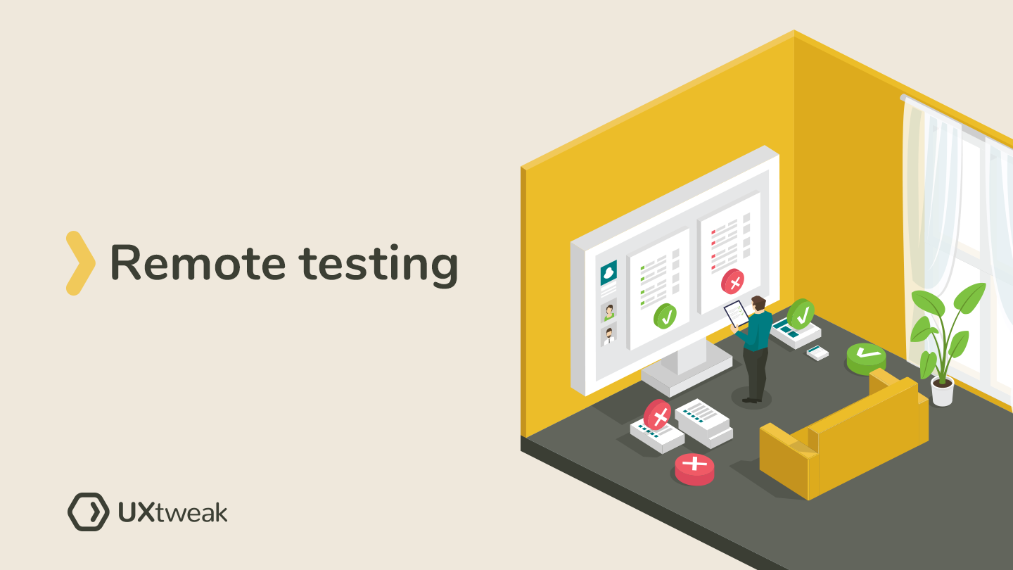 Remote usability testing. Give it a try.