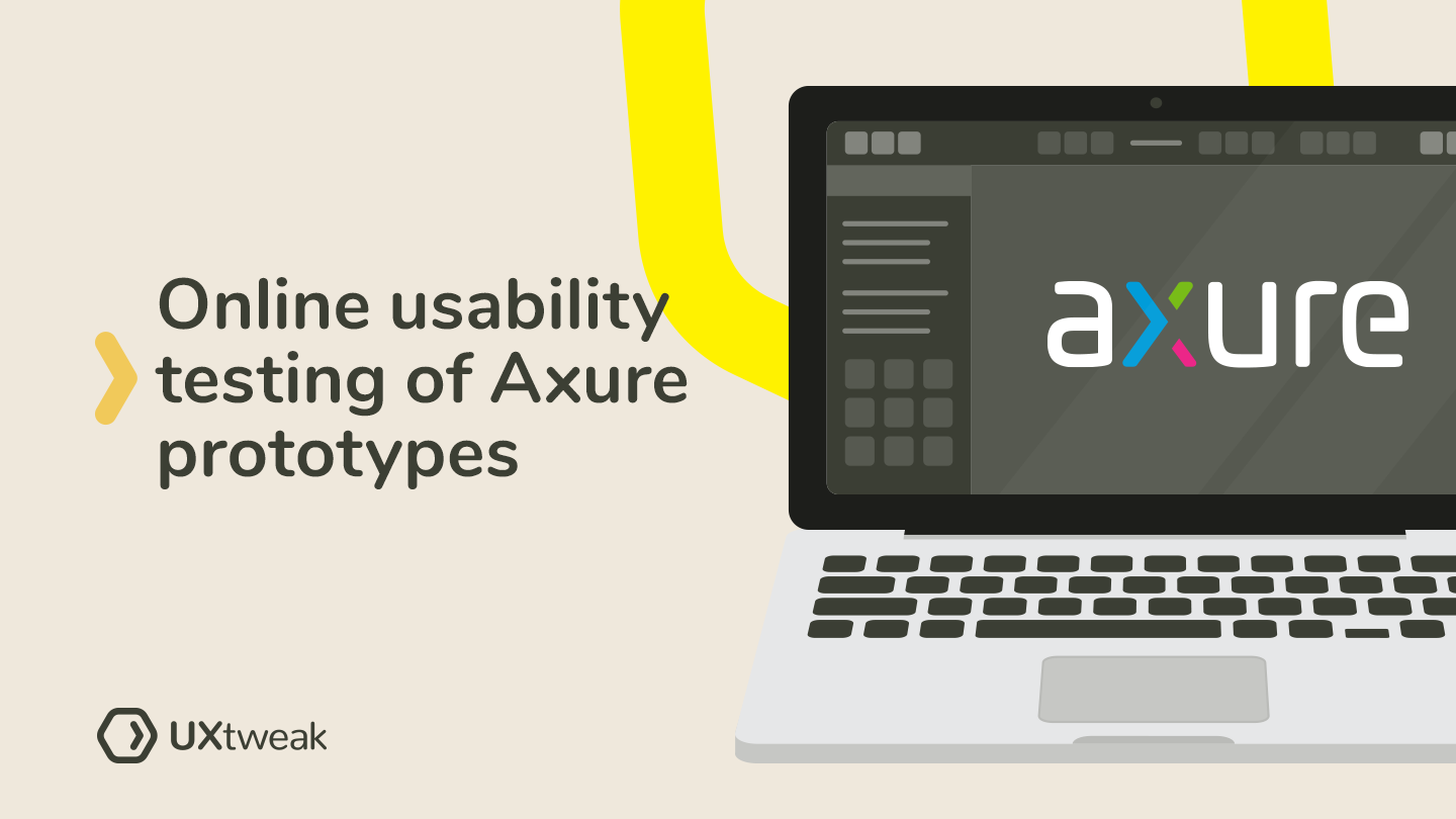 How to launch online usability testing of Axure prototypes