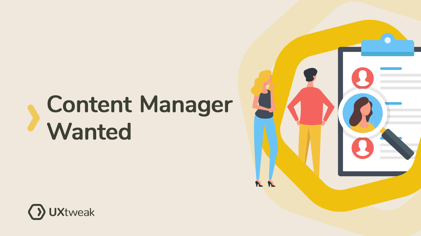 Content Manager Wanted