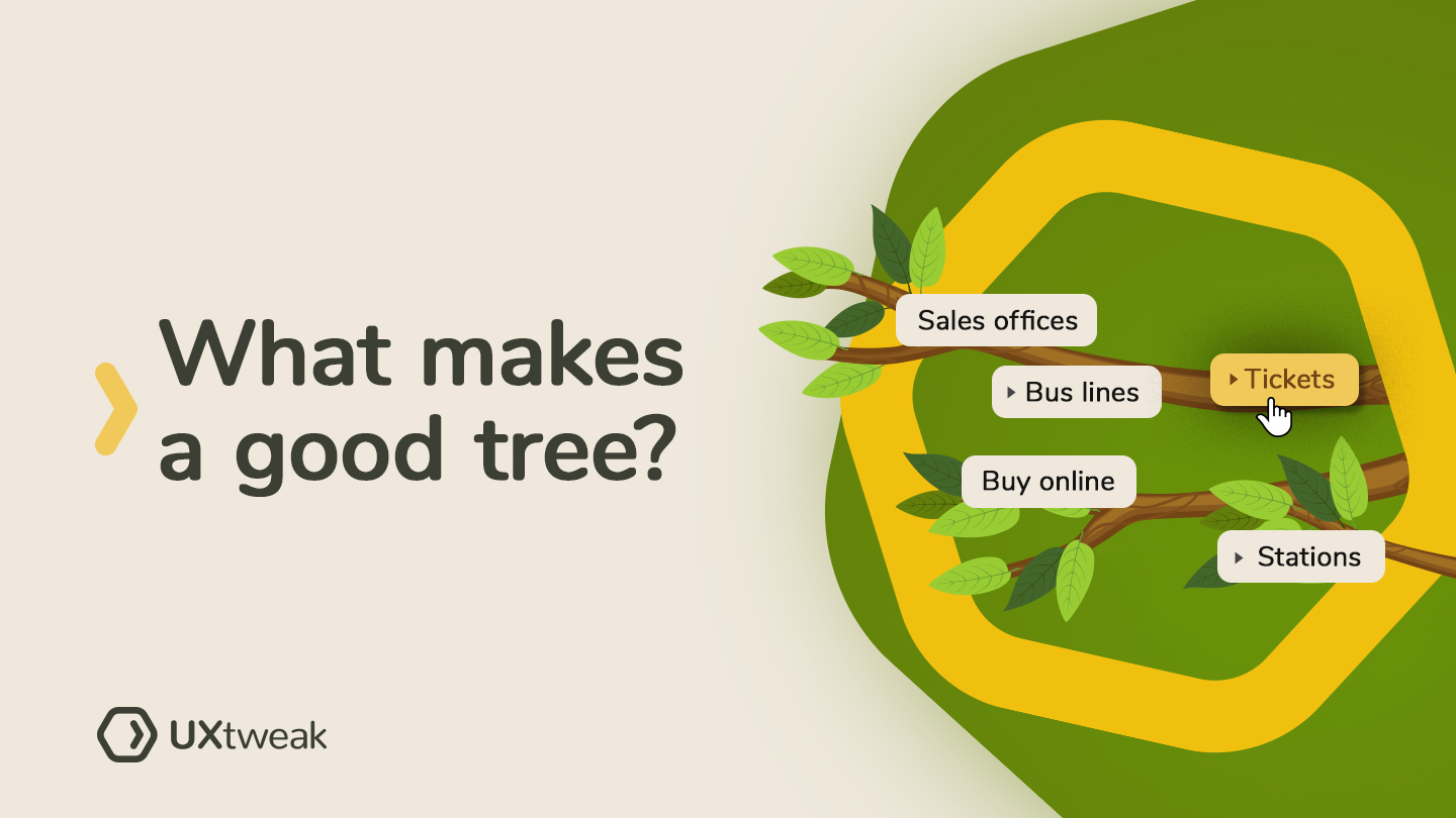 How to make good trees for tree testing