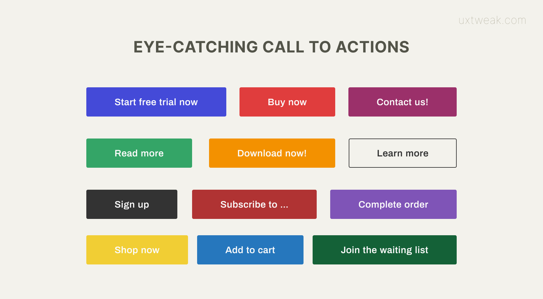 how to design cta for good user experience