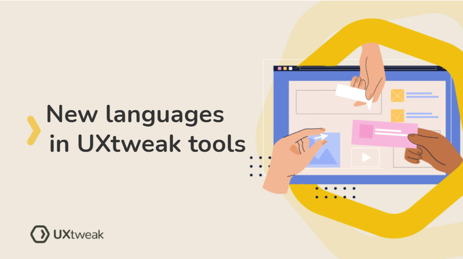 Try testing with UXtweak in new languages