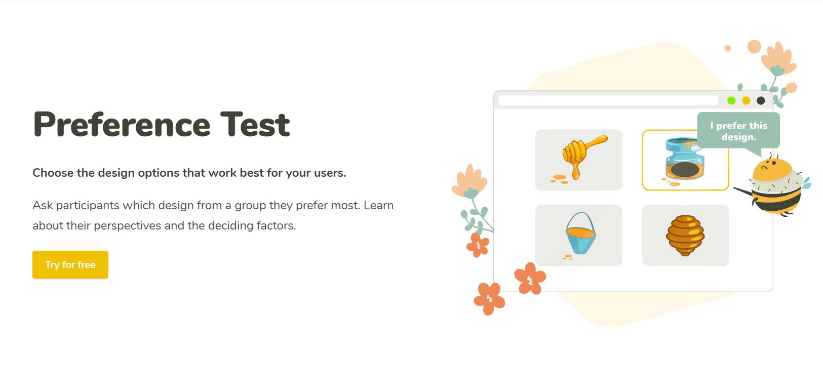 preference test uxtweak