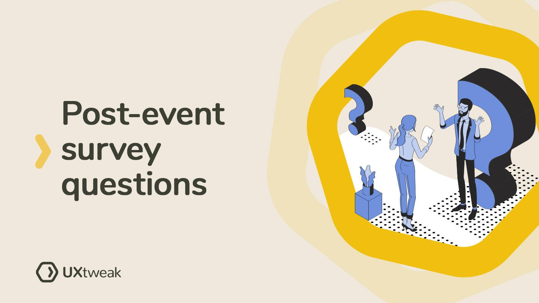 Post-event Survey Questions